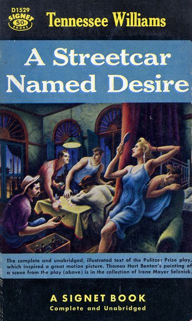 a review of tennessee williams novel streetcar named desire Buy a streetcar named desire by tennessee williams, e browne from waterstones today click and collect from your local waterstones or.