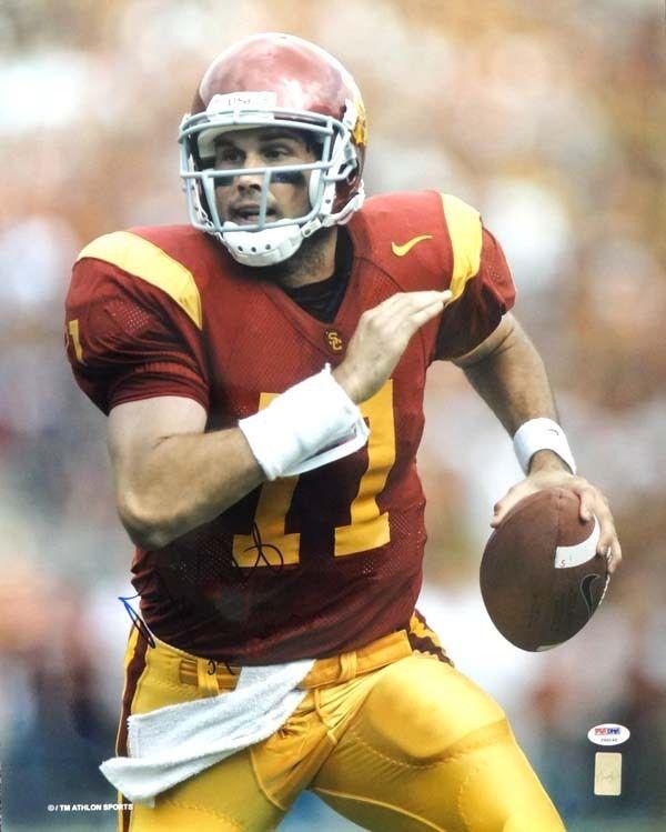 "Matt Leinart Autographed 16x20 Photo USC Trojans ""'04 Heisman"" PSA/DNA"