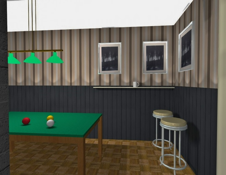 A room for pool