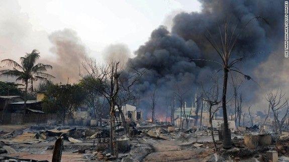 Muslims Targeted in Meikhtila as Thein Sein Declares State of Emergency | Restless Beings