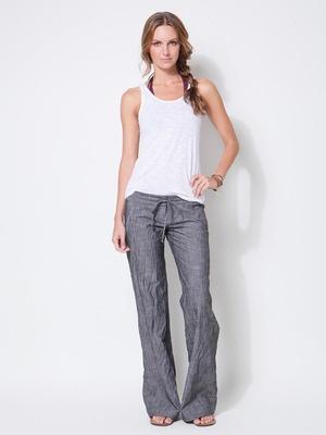 17 best images about Linen on Pinterest | Drawstring pants, Wide ...
