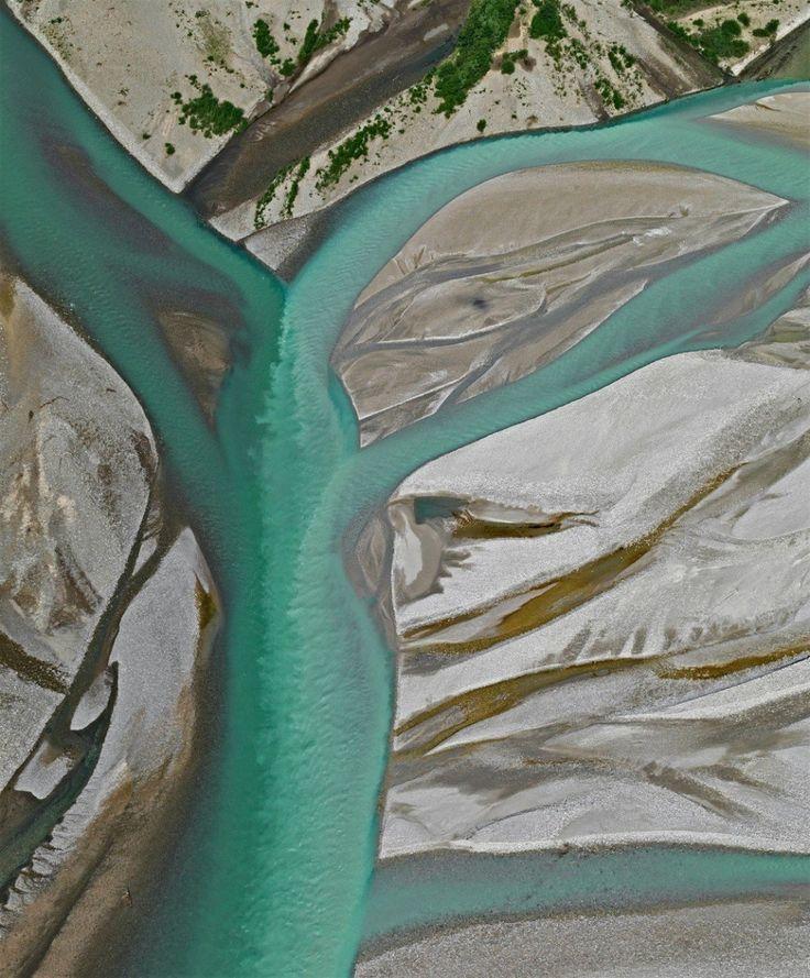 Diela prírody pripomínajú abstraktné maľby.