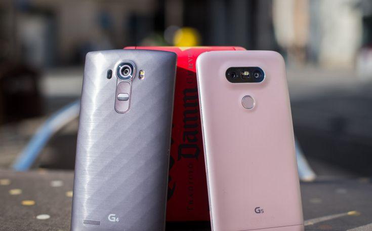LG G5 vs LG G4: Hands On Comparison
