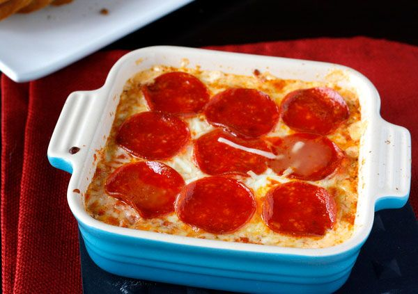 15 Over-the-Top Super Bowl Dips That Will Be Gone by Halftime  Pizza Dip    Get all the flavors of a pizza, but don't worry about having to actually make one.