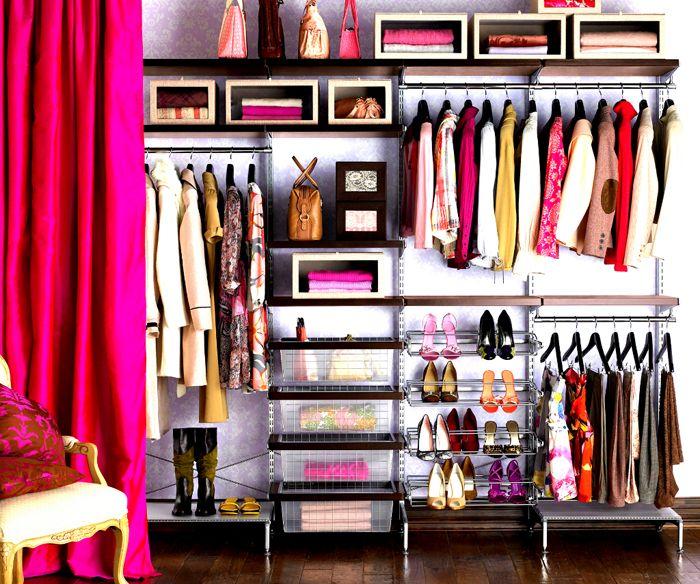 46 besten Wohnen Kleiderschrank Bilder auf Pinterest Begehbarer