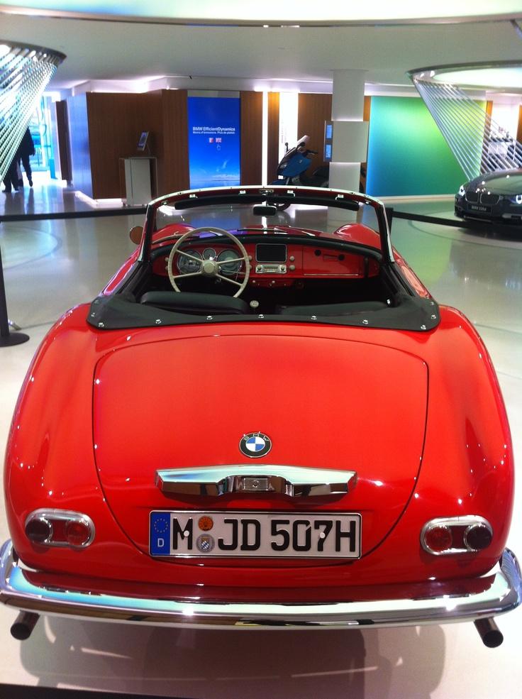BMW 507 at BMW George V, Paris, France