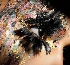 woah!: Crazy Hair, Beautiful Makeup, Faces Art, Eye Makeup, Costumes Parties, Fake Eyelashes, Hair Makeup, Mac Cosmetics, Crazy Eye