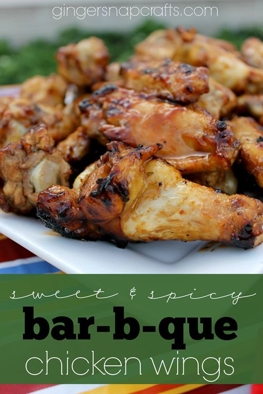 #ad Sweet & Spicy Bar-b-que Wings & Grilled Corn on the Cob {grilling ideas} #whatsgrillin #CollectiveBias