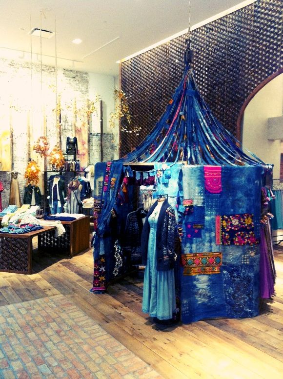 #diy #tents #indoors Why not? Make one out of streamers, scarves, ties, tapestries... you name it.
