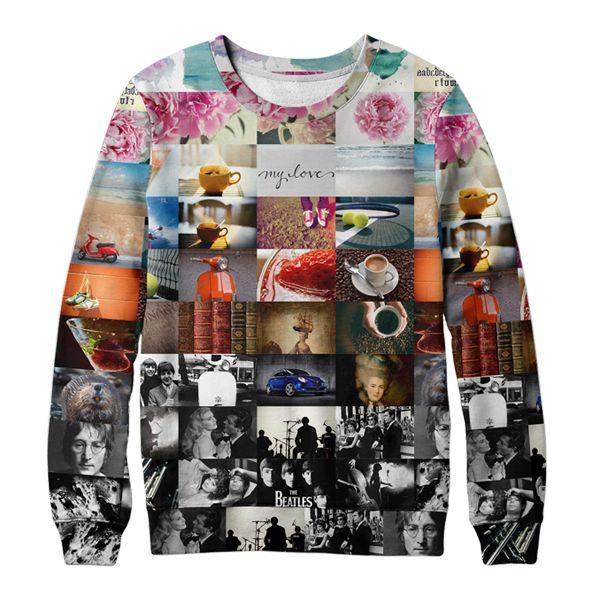 Чашка горячего кофе в промозглую погоду, Феллини, букет пионов нежно-розового цвета, книжки с красивой обложкой, музыку Битлов и Джона Леннона, клубнику и бокал игристого спуманте, капли акварели и кляксы от туши, завитки каллиграфически написанных букв, золотистый пляж и голубое море, разноцветные кроссовки, большой теннис, барсуки, джаз, маленький красный скутер Vespa, синий Альфа-Ромео, придворные дамы в высоких париках.