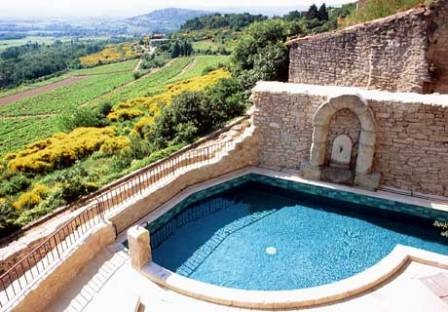 Stunning views from your pool in the French Countryside at Bastide de Ventoux.