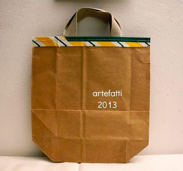 artefatti : riuso creativo vecchi sacchi della farina!!