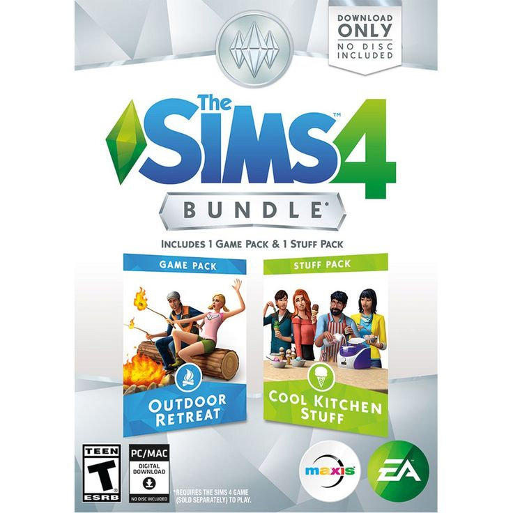 The Sims 4 Bundle: Outdoor Retreat and Cool Kitchen Stuff - PC Game