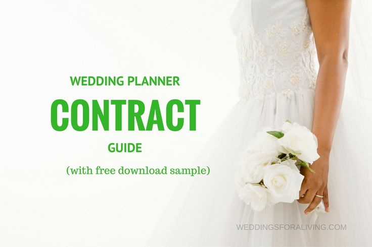 Discover what you should include in your professional wedding planner contract and download a sample letter of agreement.