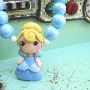 Polymer clay Cinderella
