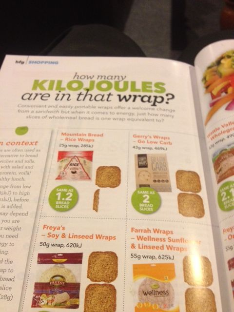 Gerry's Wraps #GoLowCarb wrap is the BEST LOW CARB WRAP IN NZ according to Healthy Food Guide magazine - great stuff! - Healthy Food Guide, June 2014, pg 80