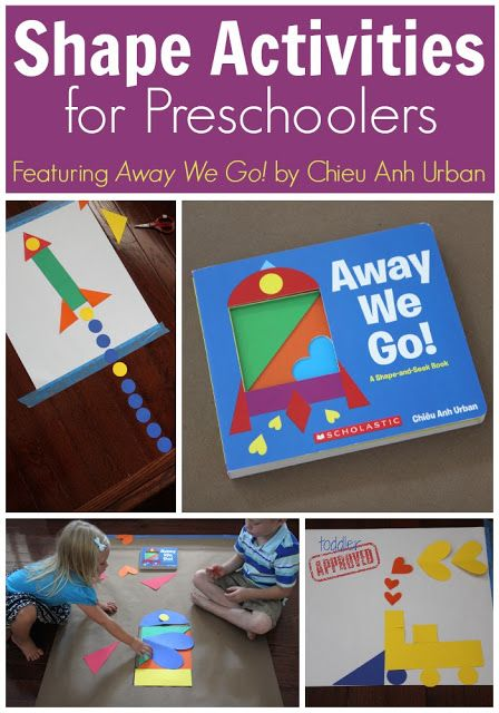 Shape Activities for Preschoolers {Away We Go! Review Giveaway} - Toddler Approved!