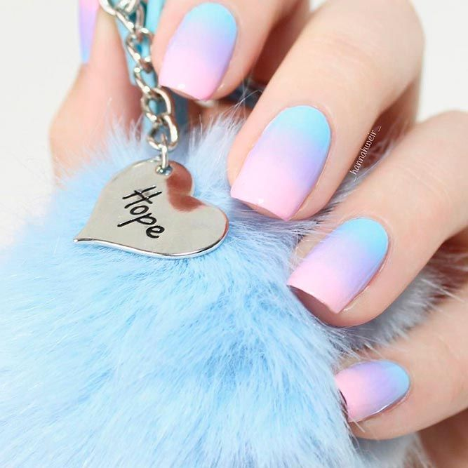 20 Cool Nails Color Combos To Experiment Naildesignsjournal Purple Ombre Nails Pink Ombre Nails Blue Ombre Nails