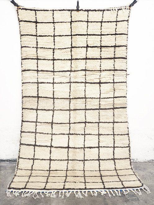 TAPIS de BENI OUARAIN tapis laine marocain par lacasadecoto