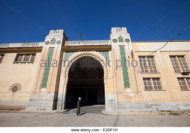 Art Deco Architecture Casablanca Stock Photos & Art Deco ...