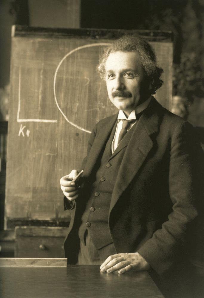 Albert Einstein Digital Art Print