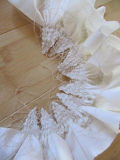 Gathered Shibori | by EcoutureStudio                                                                                                                                                                                 More