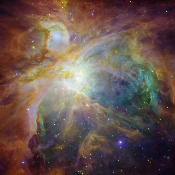 HUBBLESITE Picture Album: Spitzer and Hubble Create Colorful Masterpiece