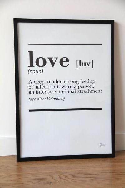 Definition Print Love - #Printable #Poster #Definition #love #Inspiration