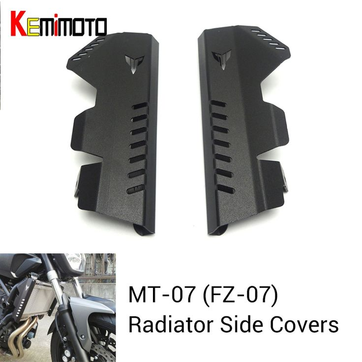 For Yamaha MT-07 MT07 Radiator Grille Side Cover Guard Protector For Yamaha MT07 FZ07 FZ-07 2013 2014 2015 2016 New #Affiliate