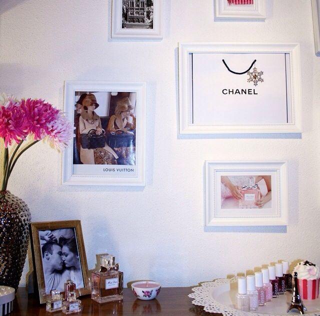 Frames fashion and nail polish ...