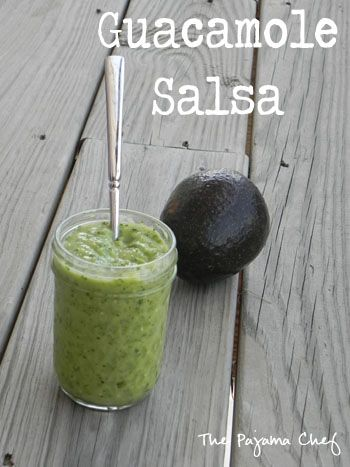 Guacamole Salsa | The Pajama Chef