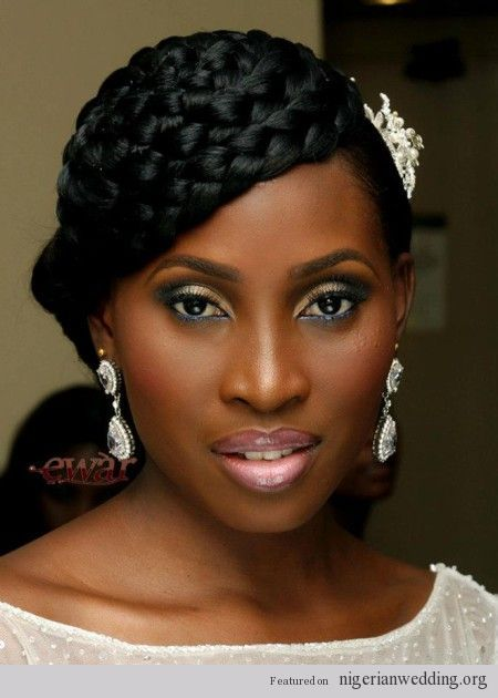 Excellent 1000 Images About African American Wedding Hairstyles On Short Hairstyles Gunalazisus
