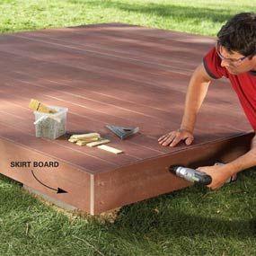 Backyard Decks: Build an Island Deck - Step by Step | The Family Handyman