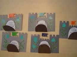 """Thinking of an Arthurian Legend / Camelot style classroom theme for 3rd grade...would make (a sturdy) plaque like one of these hand on the classroom door, open to show that we are """"in"""" the classroom, shut to show that we are """"out"""" to specials, lunch..."""