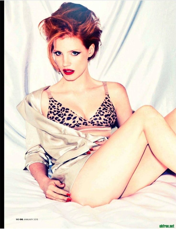 jessica chastain #ginger #redhead