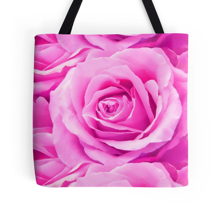 """""""Pink Roses"""" Tote Bags by artsandsoul 
