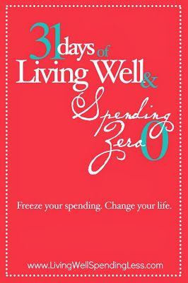 Heather's Wannabe Homestead: 31 Days of Spending Zero
