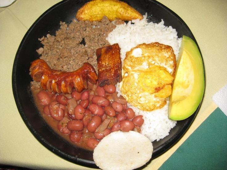 Colombian Food Recipes Bandeja Paisa