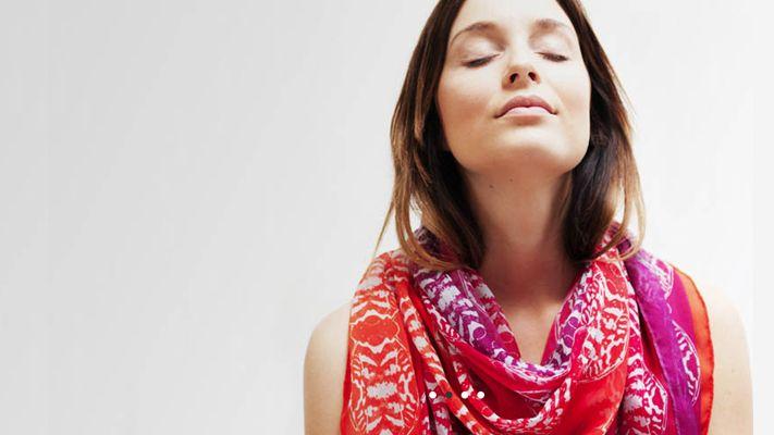 Mille Frydenberg, Silk Printed Scarves, Danish Fashion, Wild Swans