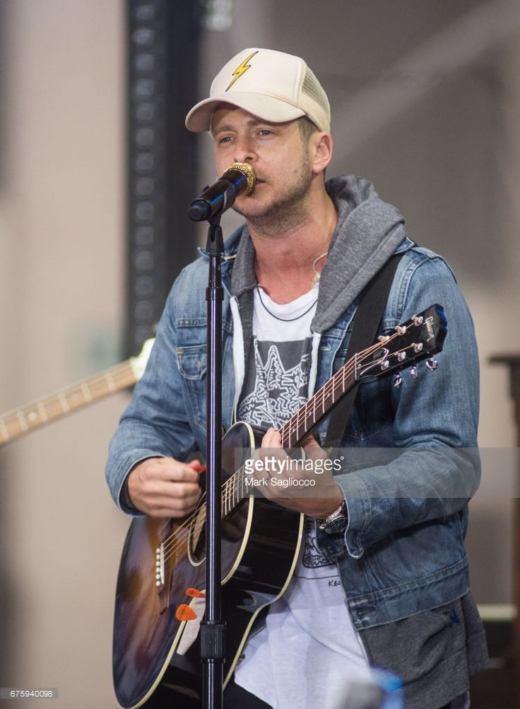 Singer Ryan Tedder of One Republic performs On NBC's 'Today' Show at Rockefeller Plaza on May 2, 2017 in New York City.