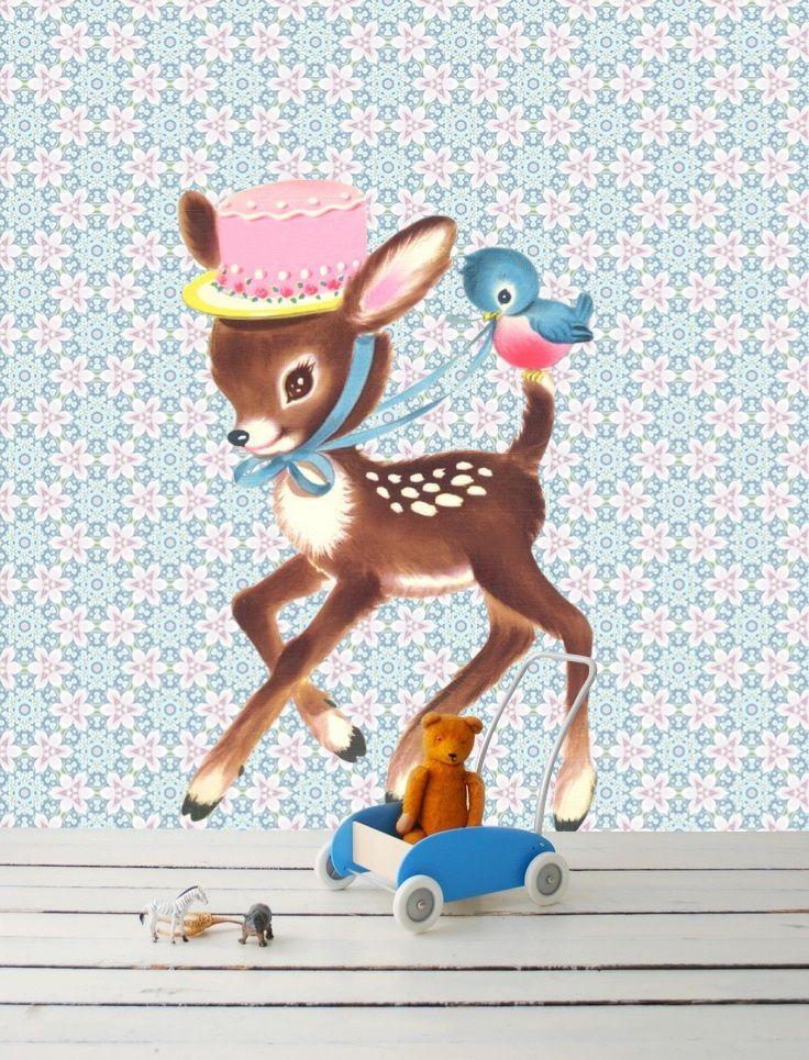 #Muursticker #Bambi #wallsticker   knuss.nl