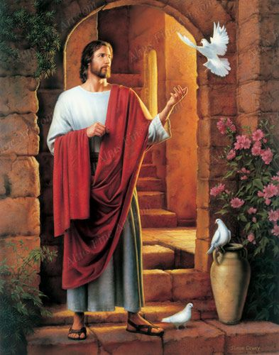 Picture of Jesus by Simon Dewey ... The Prince of Peace~: