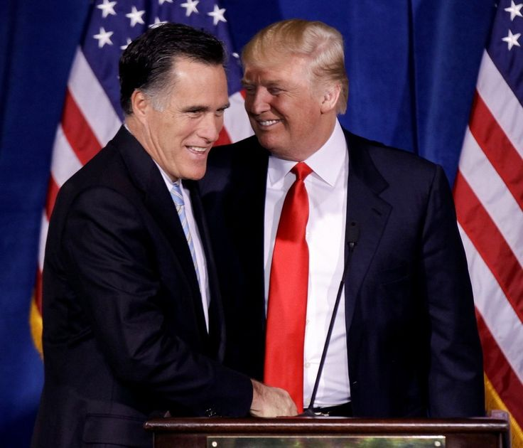 I absolutely HATE that this reporter is probably right. Still, Mitt Romney nailed it - his speech was spot on!  Romney is helping Trump. Even if he doesn't mean to.