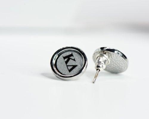 Kappa Delta Sorority Button Post Earrings: Jewelry: Amazon.com