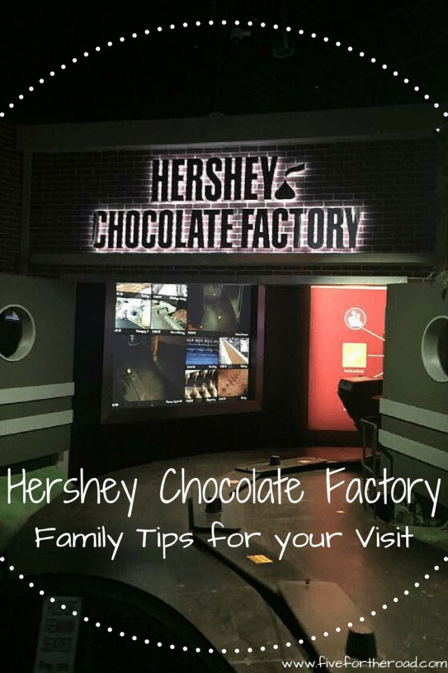 Visiting Hershey Chocolate World - Five for the Road