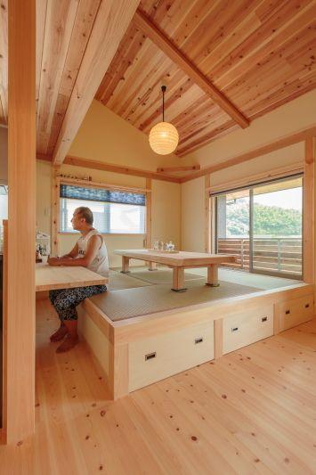 「キッチン小上がり畳」の画像検索結果
