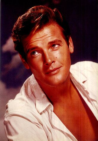 Young Sir Roger Moore