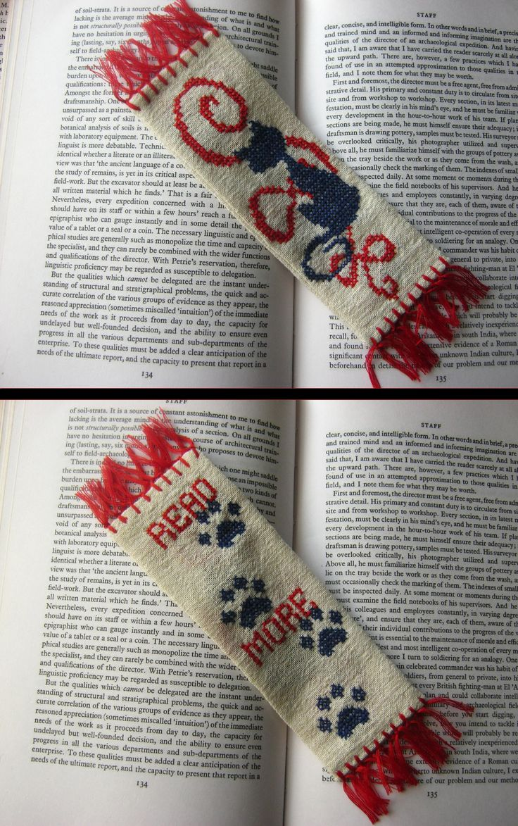 Bookmark with cat after a pinterest idea