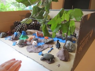 Zoo Diorama Craft