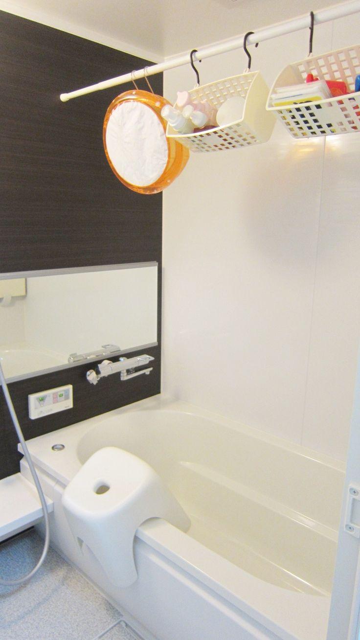 100均グッズで揃っちゃう!浴室・お風呂のアイデア収納術!|SUVACO ... お風呂のおもちゃ収納|わたしのいる場所
